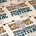 Day of the Dead Cyclocross Festival Coasters